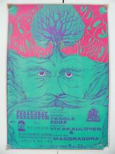 Freakbeat Freakout 3 Poster - Rare 1990s
