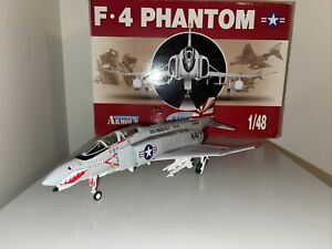 Franklin Mint Armour Collection F-4 Phantom Sundowners Vietnam War VF-111 1/48