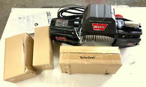 "Warn 103254 VR EVO12 Standard 12,000# Winch w/85' of 3/8"" Steel Cbl--#100---$525"