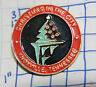 TENNESSEE, KNOXVILLE CHRISTMAS IN THE CITY SOUVENIR METAL HAT LAPEL PIN