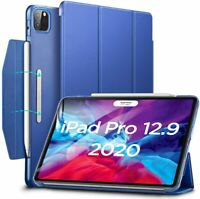 "Coque Smart Cover Étui à Rabat pour iPad Pro 12.9"" 2020/2018 [Charge sans fil]"