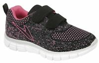 Infant Girls Trainers Superlight Weight Touch Fastening Jogger Mesh Shoes Size