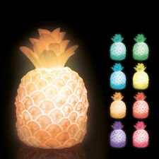 Pineapple Mood Light Colour Changing LED Bedroom Night Lamp
