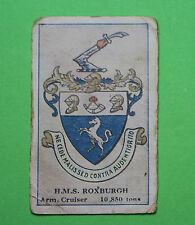 Cigarette Card Sniders & Abrahams Pty Ltd Crests of British War Ships 1915 77