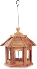 Pennington 100509194 Cedar Gazebo Bird Feeder, 3 Lb Capacity