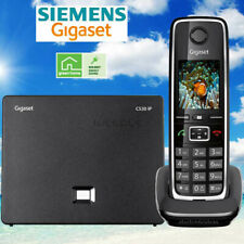 SIEMENS GIGASET C530IP CORDLESS HYBRID PHONE SYSTEM IP / LANDLINE - 1 PHONE