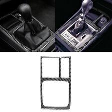 For Mitsubishi Lancer DE/ES 2008-15 Carbon Fiber Interior Gear Shift Panel Cover
