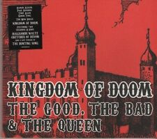 THE GOOD THE BAD & THE QUEEN Kingdom of Doom 3 TRACK CD  NEW - NOT SEALED