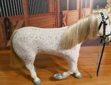 "AMERICAN GIRL DOLL GOTY 2013 SAIGE'S 18"" Spotted HORSE Picasso EUC SHIPS FASST!!"