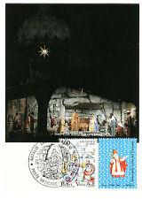 Carte maximum MK VATICAN 1987 NR: 934 Noël Santo judiciaires O mk028