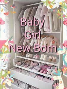 Baby Girl Make Your Own Bundle Size New Born up to 1 Months Dress Snowsuit
