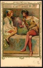 Vintage Faulkner PPC c1907 - Shakespeare Series No.45C - Viola & The Duke