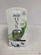 4 FEBREZE ONE Car Vent Clips Freshener Odor Eliminator BAMBOO No Heavy Perfumes