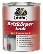 düfa Heizkörperlack 2,5 Liter Profi Glanz-Weißlack/Spezial-Kunstharzlack