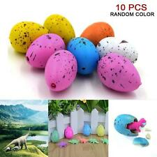 10pcs Hatching Dinosaur Eggs Growing Dino Eggs Add Water Magic Inflatable Toy WT