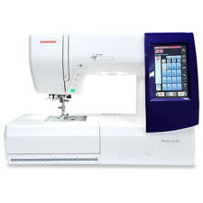 *NEW* Janome Memory Craft 9850 Sewing & Embroidery Machine! MC9850
