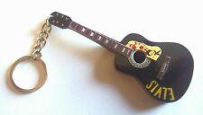 """Gibson Acoustic Elvis"" -Portachiavi chitarra -Guitar keychain -Guitarra Llavero"