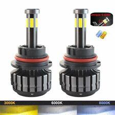 6 Sides 9004 HB1 LED Headlight Bulbs Hi-Lo Beam 120W 12000LM 6000K Car Light 2PC