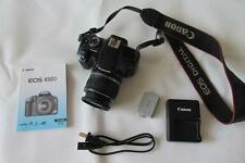 Canon EOS 450D 12.2MP Digital-SLR DSLR Camera with EF-S 18-55mm Lens - BLACK