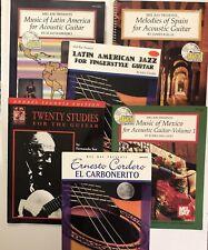 Guitar Book Lot (6); Latin America, Mexico, Spain (Missing Cd'S) Fernando Sor +