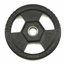 Toorx  Tri Grip 5kg 50mm Disco Ghisa Gommato - Nero