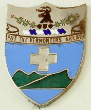 172nd Infantry Regiment Crest DI/DUI Pinback NS Meyer HM