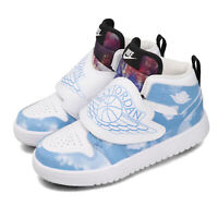 Nike Sky Jordan 1 Fearless PS Blue White Black Kid Preschool Shoes CT2477-400