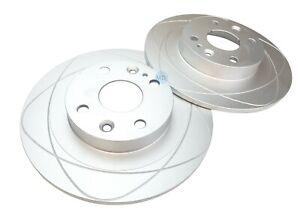 Set 2 REAR Disc Brake Rotors For Ford Escort, Mazda Miata, MX-3, Protege,Mercury