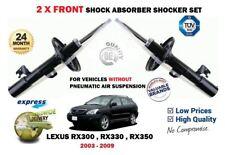 FOR LEXUS RX300 RX330 RX350 2003-2009 2X FRONT LH+RH SHOCK ABSORBER SHOCKER SET