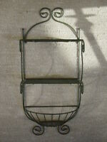 # Wire Metal Planter / Shelf Vintage Orginal Home Interiors & Gifts New not used