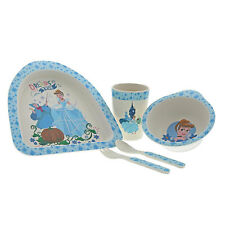 Disney Cinderella Organic Bamboo Dinner Set BRAND NEW