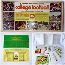 Sports Illustrated College Football Board Game Vintage 1972 Complete Clean!!