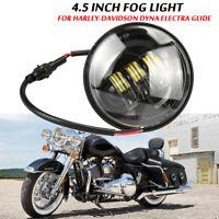 4.5 Zoll LED Nebelscheinwerfer Zusatzscheinwerfer Tagfahrlicht für Harley 12V