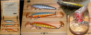 Angeln Baits Wobbler Rapala wooden Box limited edition fishing lures finland