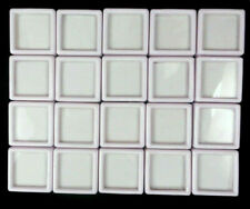 Wholesale 20 Pcs 3x3 Cm Gem Display plastic box Storage for Gems & Diamond...