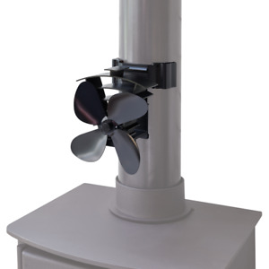 VALIANT REMORA MAGNETIC FLUE PIPE FAN - Eco Friendly Heat Powered Stove Fan