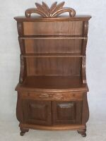 Vintage Sonia Messer Dollhouse Miniatures SIDEBOARD or HUTCH, Display Cabinet
