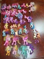 Lot of 40+ My Little Pony Figures Rainbow Dash MLP