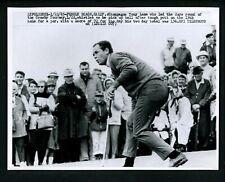 Tony Lema putts at 1965 Crosby Golf Tournament at Pebble Beach Press Photo