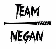 Zombie The Walking Dead Team Negan Decal Vinyl Truck Car Window Sticker