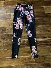 Onzie High Waisted Floral Yoga Pants