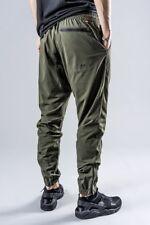 Men's Nike V442 Woven Jogger Pants Sz L Olive $95 871767 325