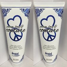 2 Devoted Creations Peace Love and Couture Body Wash 9 oz NEW