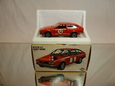 MERCURY 211 ALFA ROMEO ALFETTA GT COUPE SAFARI  #12 - RED 1:43 - GOOD IN BOX