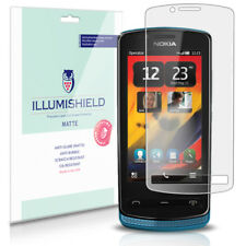 iLLumiShield Matte Screen Protector w Anti-Glare/Print 3x for Nokia 700