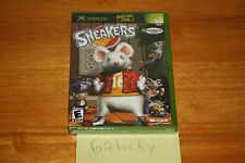 Sneakers (Xbox) NEW SEALED MINT TOYS R US EXCLUSIVE, Y-FOLD W/UPC, MINT, RARE!