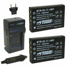 Wasabi Power Battery (2-Pack) and Charger for Toshiba PX1657, PA3791U and