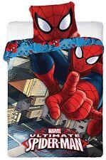 Bettwäsche SPIDER-MAN 135x200 / 140x200+70x80 100% Baumwolle, Öko-Tex Spiderman