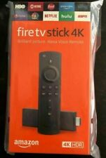 Genuine ^&1Amazon 4K Ultra HD HDR Fire TV Stick With Alexa Voice Remote US GIFT