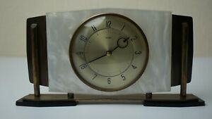 Vintage METAMEC Clock Foreign Movement Kienzle Quartz Interior Functional Great